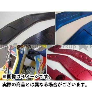 OUTEX KX250F その他ハンドル関連パーツ KX250F(2007年以降)用 ステアリングステムスタビライザー レッドアルマイト