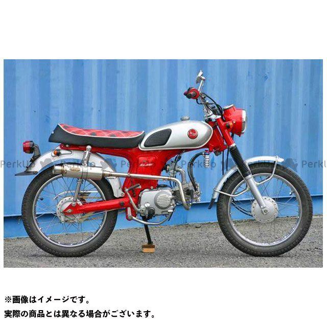 【エントリーで更にP5倍】OUTEX ベンリィCL50 マフラー本体 BENLY CL50用 マフラー タイプ:OUTEX.R-BSTG アウテックス
