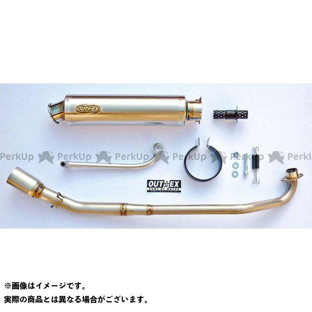 OUTEX スーパーカブ110プロ マフラー本体 スーパーカブ110プロ(JA10) マフラー タイプ:OUTEX.R-TT アウテックス
