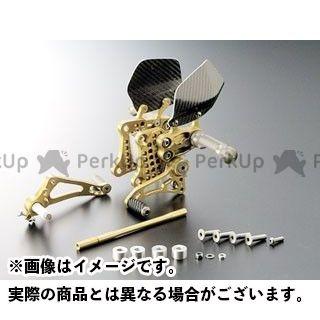 GILLES TOOLING バックステップ関連パーツ バックステップ カラー:ゴールド ギルズツーリング