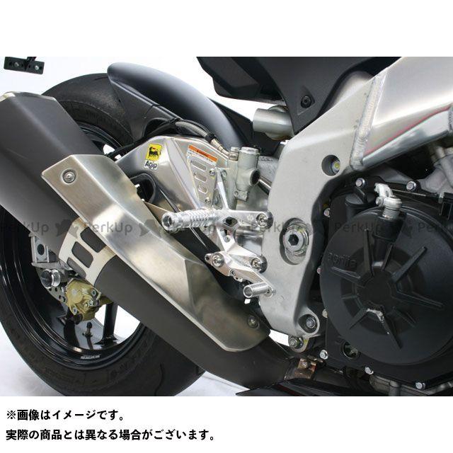 GILLES TOOLING RSV4ファクトリー トゥオーノV4R APRC バックステップ関連パーツ バックステップキット FACTOR-X レース専用 カラー:ブラック ギルズツーリング