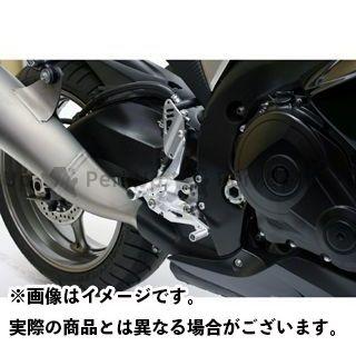 GILLES TOOLING GSX-R1000 GSX-R600 GSX-R750 バックステップ関連パーツ バックステップ FACTOR-X ストリート専用 カラー:ブラック ギルズツーリング