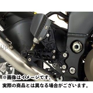 GILLES TOOLING ニンジャZX-10R バックステップ関連パーツ バックステップ プレッシャーSW付き カラー:ブラック ギルズツーリング