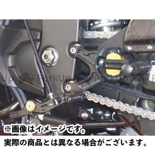 GILLES TOOLING YZF-R1 バックステップ関連パーツ バックステップ VCR38 カラー:ブラック ギルズツーリング