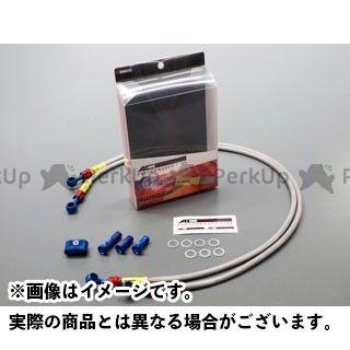 送料無料 ACパフォーマンスライン ZXR250 ブレーキホース・ケーブル類 フロントブレーキホース クリア
