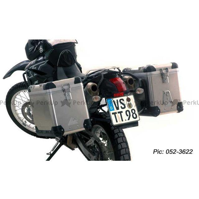 ツアラテック TOURATECH ツーリング用バッグ ZEGA-PROアルミニウムパニアシステム 38+38L Yamaha XT 660 R