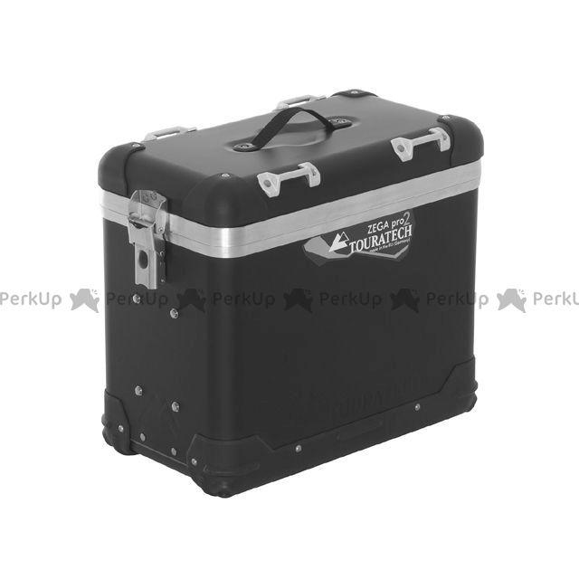 ツアラテック TOURATECH ツーリング用ボックス ZEGA-PRO2 パニアケース 38L(アルマイトブラック)