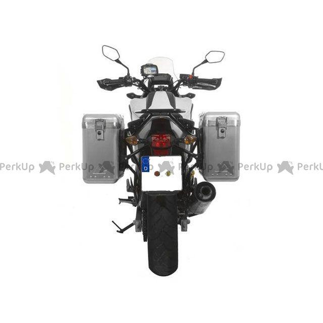 ツアラテック TOURATECH ツーリング用バッグ ZEGA Mundo アルミパニアシステム【アルミ無塗装】 31L+31L HONDA NC700X/NC750X/NC700S/NC750S(ステンレスシルバーフレーム)