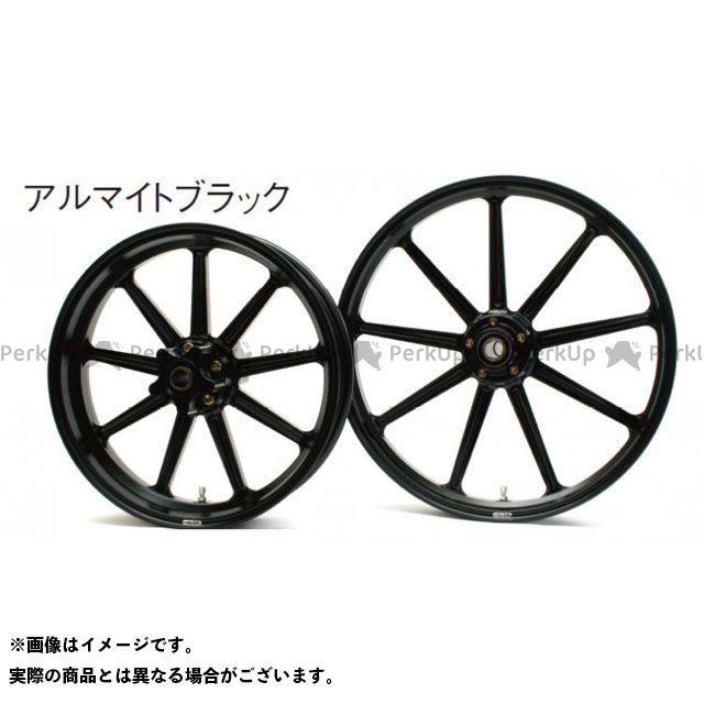 【エントリーで更にP5倍】GLIDE ダイナファミリー汎用 ホイール本体 アルミニウム鍛造ホイール フロント(250-19) シングルディスク カラー:アルマイトブラック グライド