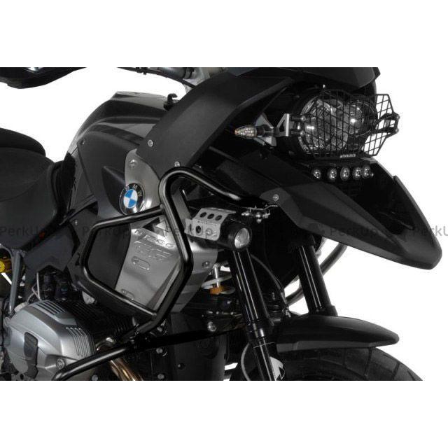 TOURATECH R1200GS その他フレーム関連パーツ フェアリングクラッシュバー ステンレス(ブラック) BMW R1200GS(2008-)  ツアラテック