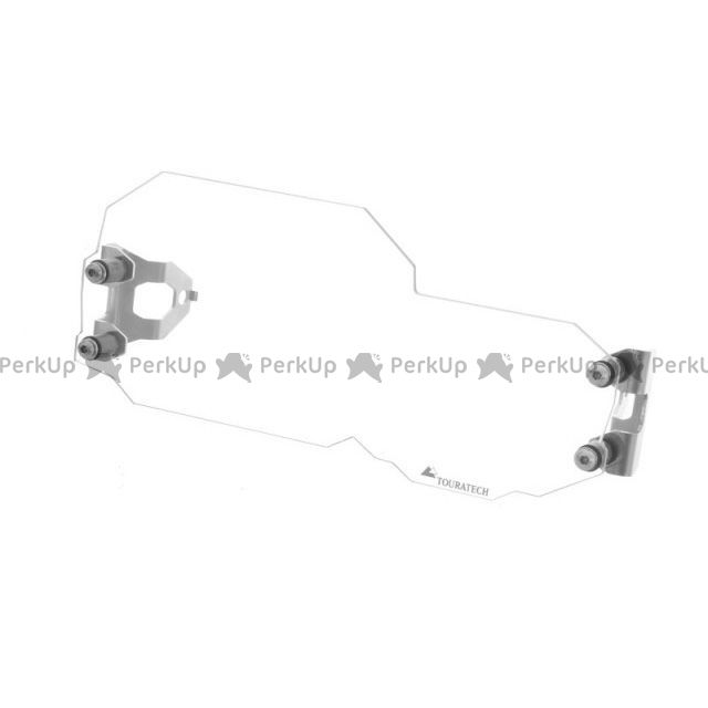 TOURATECH F650GS F700GS F800GS ヘッドライト・バルブ マクロロン・ヘッドライトプロテクター・クイックリリース版