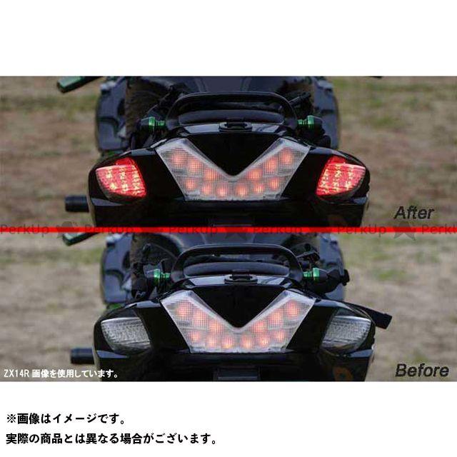 BOSSCOMJAPAN ニンジャZX-14R ウインカー関連パーツ バックフォグ内蔵LEDリアウインカーG21