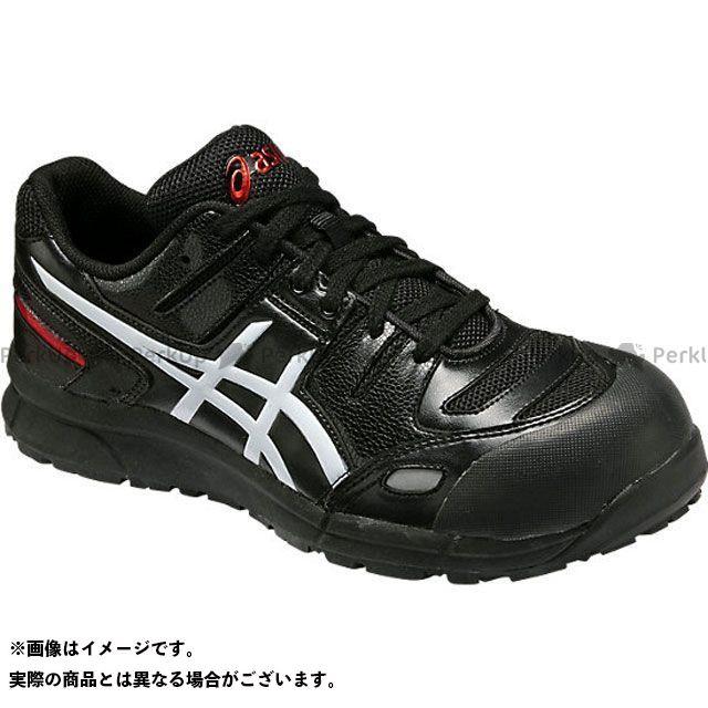 アシックス メカニックシューズ 安全靴 ウィンジョブ CP103 ブラック/ホワイト 24.0cm ASICS