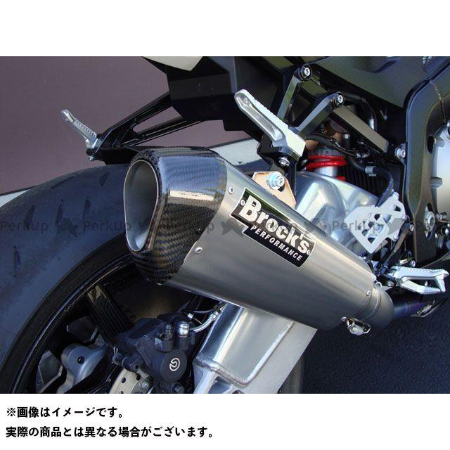【エントリーで更にP5倍】Brocks S1000RR マフラー本体 FULL TITANIUM EXHAUST SYSTEM SINGLE CT MUFFLER 仕様:QuiteKore ブロックス