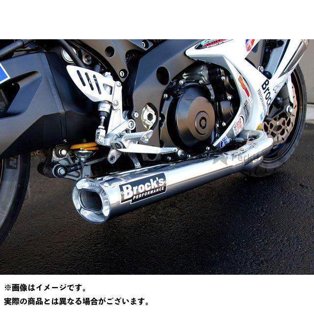 【エントリーで更にP5倍】Brocks GSX-R1000 マフラー本体 TIWINDER W/ BAFFLE POLISHED 仕様:RACE ブロックス