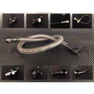 FRENTUBO R1200RT ブレーキホース・ケーブル類 リアカーボンブレーキホースキット ABSユニット~リアキャリパー間