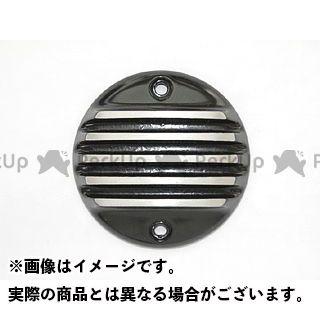 FORK スポーツスターファミリー汎用 ドレスアップ・カバー 5フィン ポイントカバー 2穴 縦穴 カラー:ブラック フォーク