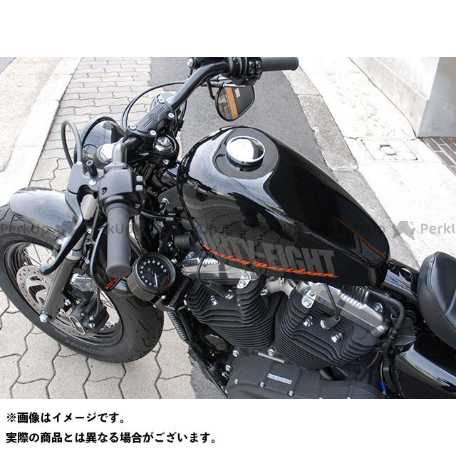 【エントリーで最大P21倍】Tramp Cycle スポーツスター XL1200X フォーティエイト その他メーター関連パーツ SCS-036B XL1200X フォーティーエイト用 Side Mount Meter Bracket (Black) ト…