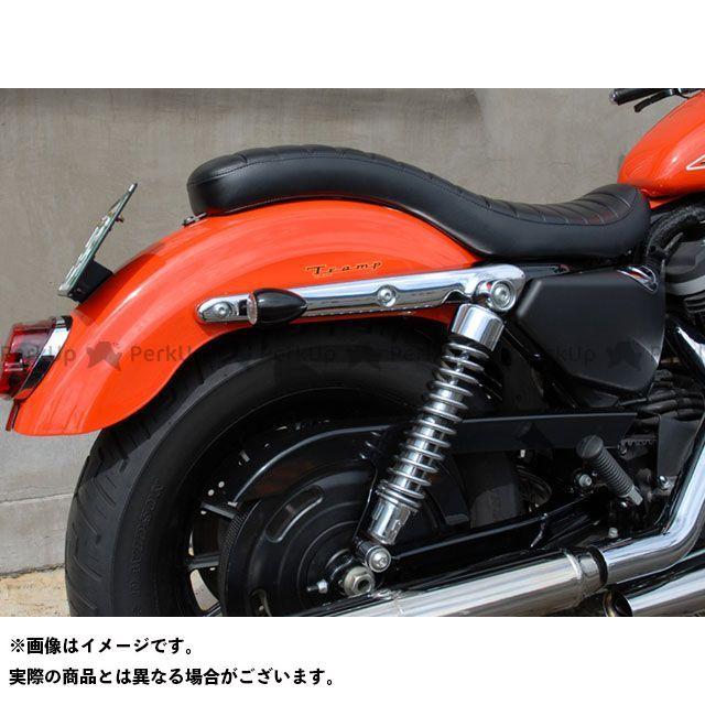 Tramp Cycle ダイナファミリー汎用 ウインカー関連パーツ Round Type Turn Signal Black