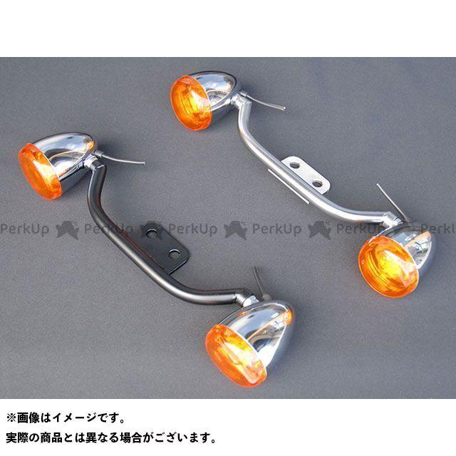 【無料雑誌付き】Tramp Cycle その他のスポーツスター 電装ステー・カバー類 HD Bow Style Turn Signal Bracket カラー:Black 年式:04~15年用 トランプ