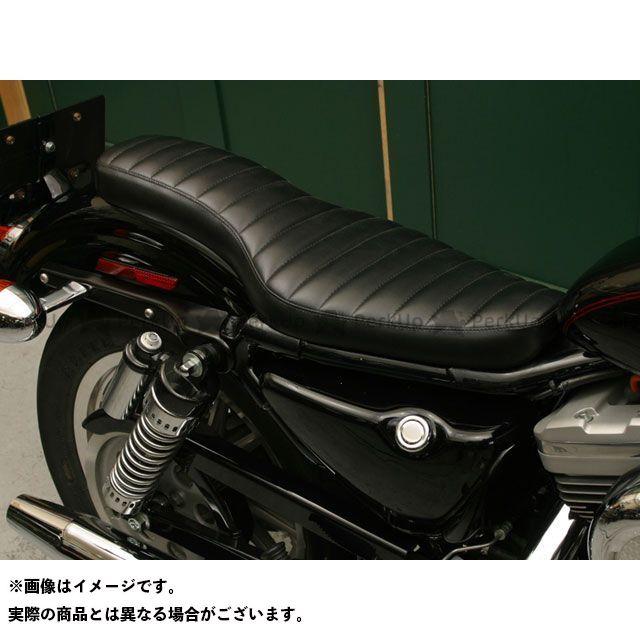 Tramp Cycle スポーツスターファミリー汎用 シート関連パーツ TSE-002 COBRA press type オプション:なし トランプ
