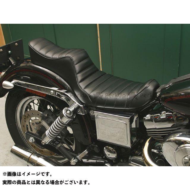 Tramp Cycle ダイナファミリー汎用 シート関連パーツ TSE-003WGP KING&QUEEN press type トランプ
