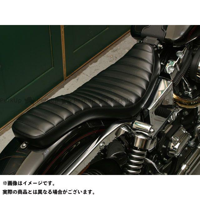 Tramp Cycle ダイナファミリー汎用 シート関連パーツ TSE-004WGP COBRA press type オプション:なし トランプ