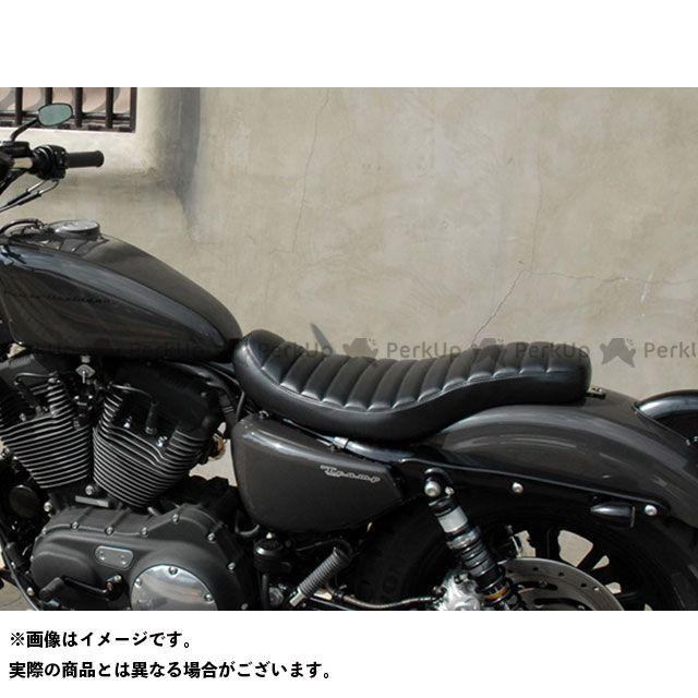 Tramp Cycle シート関連パーツ TSS-013 Semi Double Cobra stitch type トランプ