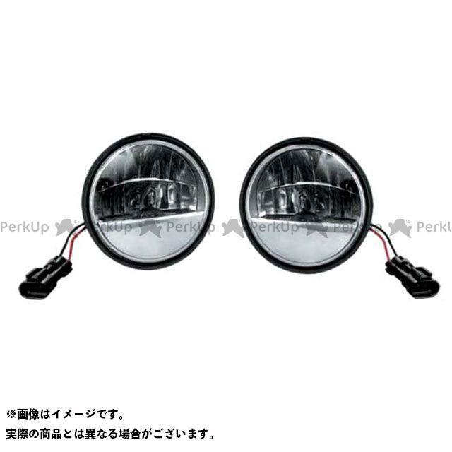 送料無料 kuryakyn FLHR ロードキング ハーレー汎用 ヘッドライト・バルブ LED パッシングライト 4-1/2インチ パッシング車