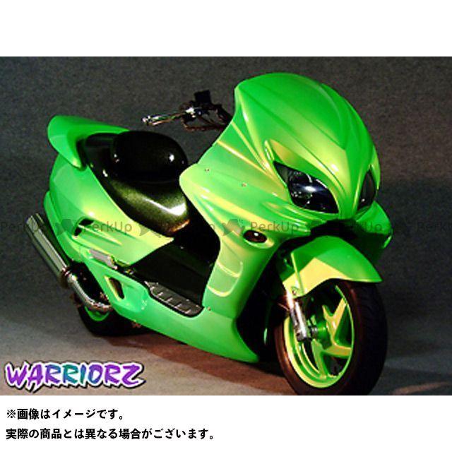WARRIORZ フォルツァ カウル・エアロ エアロフェイスV2 カラー:純正色塗装済/ピュアブラック ウォーリアーズ