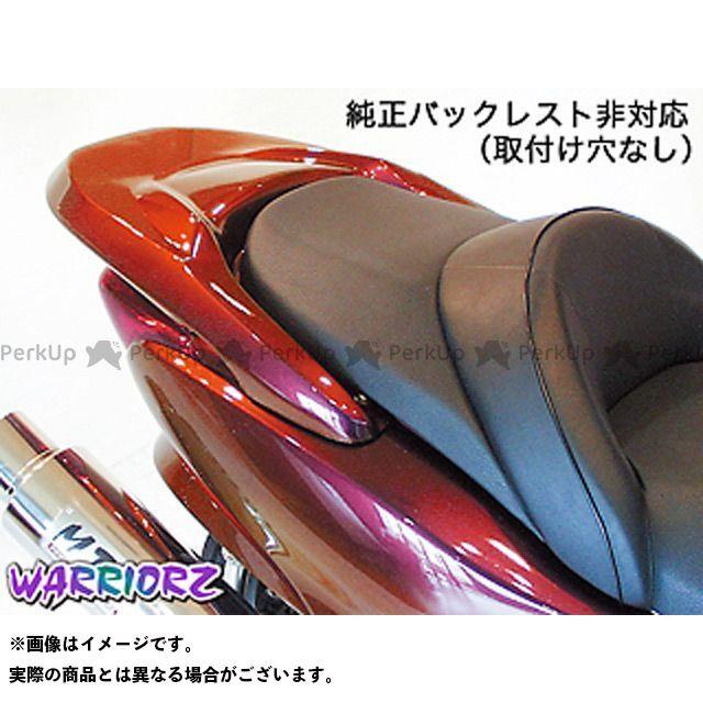 WARRIORZ フォルツァX フォルツァZ カウル・エアロ リアウイングV1・穴なし カラー:純正色塗装済/パールサイバーブラック ウォーリアーズ