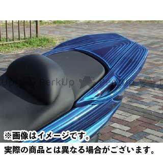 WARRIORZ グランドマジェスティ250 グランドマジェスティ400 カウル・エアロ リアウイングV1 カラー:純正色塗装済/ディープレッドメタリックK(ワインレッド) ウォーリアーズ