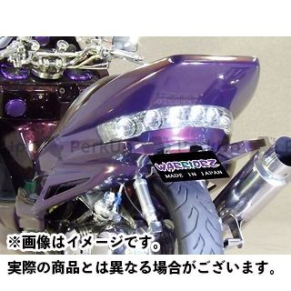 WARRIORZ マジェスティC ドレスアップ・カバー ジェットフラップ カラー:純正色塗装済/ブラックメタリックX ウォーリアーズ
