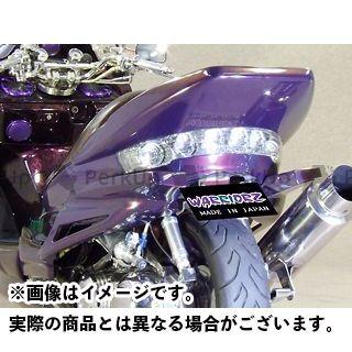 WARRIORZ マジェスティC ドレスアップ・カバー ジェットフラップ カラー:純正色塗装済/ビビットレッドカクテル1 ウォーリアーズ