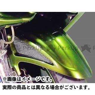 WARRIORZ マジェスティC フェンダー フロントフェンダー カラー:純正色塗装済/ブルーメタリックC ウォーリアーズ