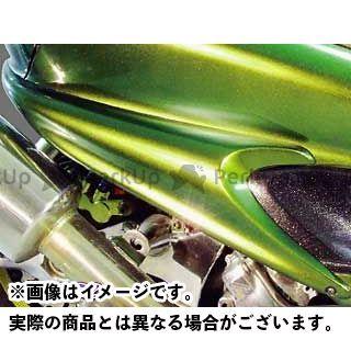 WARRIORZ マジェスティC ドレスアップ・カバー サイドフラップV4 純正色塗装済/ベリーダークオレンジ(ブラウン) ウォーリアーズ