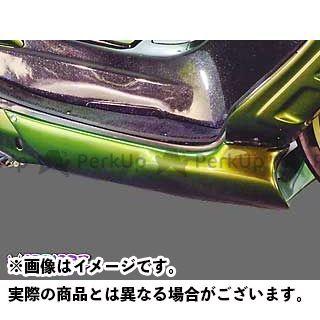 WARRIORZ マジェスティC カウル・エアロ アンダーカウルV4 カラー:純正色塗装済/ブラックメタリックX ウォーリアーズ
