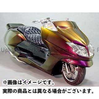 WARRIORZ マグザム カウル・エアロ エアロフェイスV1 カラー:純正色塗装済/ビビットレッドカクテル1 ウォーリアーズ