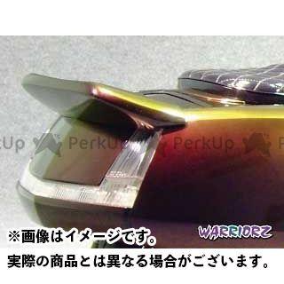 WARRIORZ マグザム カウル・エアロ リアスポイラーV1 カラー:純正色塗装済/シルバー3 ウォーリアーズ