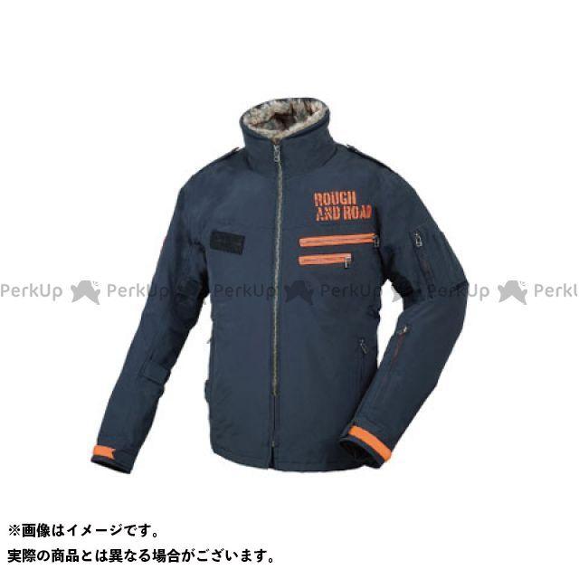 ラフアンドロード ジャケット RR7683 フライトジャケット カラー:ブラック×オレンジ サイズ:WM ラフ&ロード