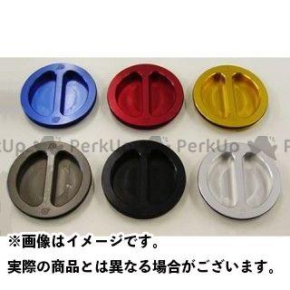 OBERON スズキ汎用 タンク関連パーツ フューエル フィラー キット カラー:チタニウム オベロン