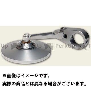 【エントリーで最大P21倍】OBERON 汎用 ミラー関連パーツ ハンドルクランプ アジャスト ミラー(75mm/円形) カラー:ブラック オベロン