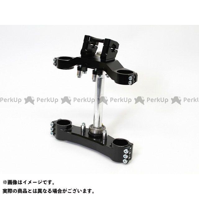 シャボンダマ ゼファー1100 トップブリッジ関連パーツ ショートオフセットステムキット ウイングタイプ(ブラック)