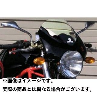 モトコルセ MOTO CORSE スクリーン関連パーツ Optical Windscreen/Clear for DUCATI Monster
