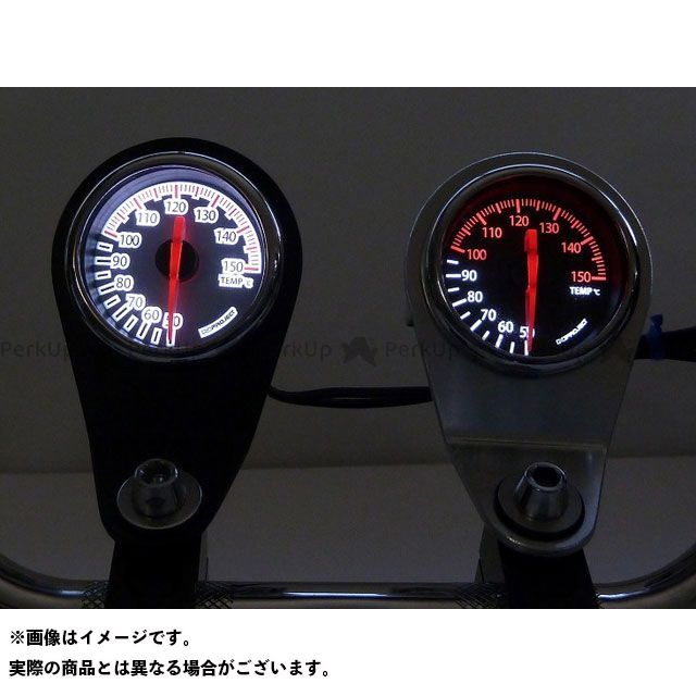 【エントリーで最大P23倍】エヌプロジェクト 汎用 水温・油温・燃料計 アナログテンプメーター タイプ:ブラックパネル Nプロジェクト