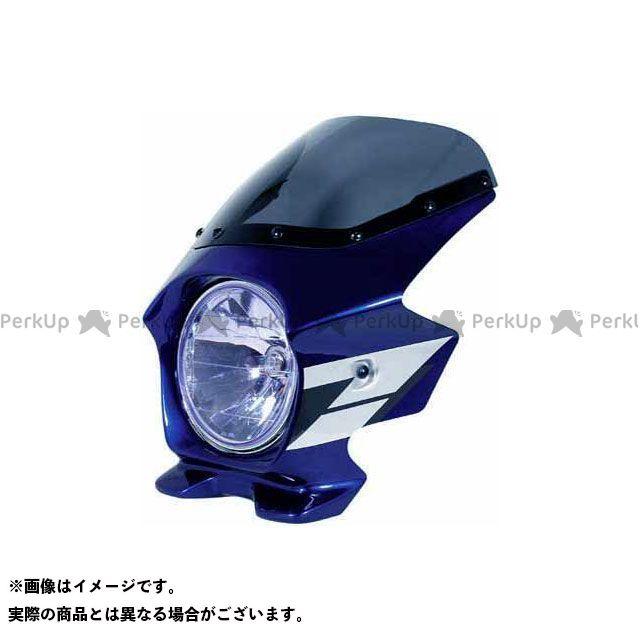 BLUSTER2 CB1300スーパーフォア(CB1300SF) カウル・エアロ ビキニカウル CB1300SF(03~) カラー:パールヘロンブルー/フォースシルバーメタリック(ウイングライン) スクリーン仕様:スタンダード ブラスター2