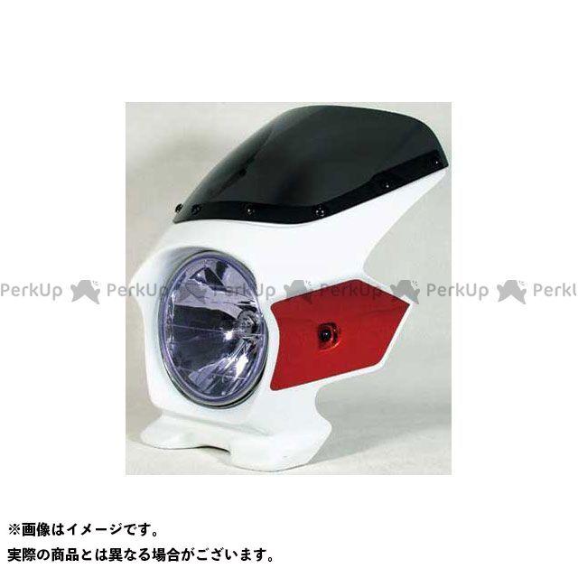 BLUSTER2 CB1300スーパーフォア(CB1300SF) カウル・エアロ ビキニカウル CB1300SF(07-11) カラー:パールサンビームホワイト/キャンディアルカディアンレッド スクリーン仕様:スタンダード ブラスター2