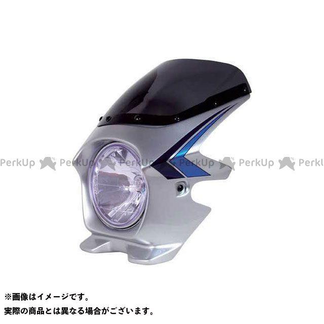 BLUSTER2 CB1300スーパーフォア(CB1300SF) カウル・エアロ ビキニカウル CB1300SF カラー:フォースシルバーメタリック(ストライプ) スペンサーカラー スクリーン仕様:スタンダード ブラスター2