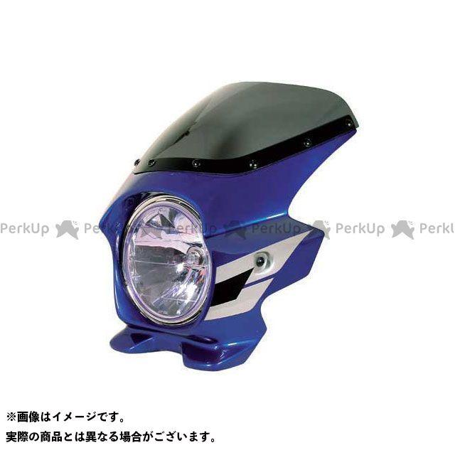 BLUSTER2 CB400スーパーフォア(CB400SF) カウル・エアロ ビキニカウル CB400SF SPEC 3(05-06) カラー:キャンディタヒチアンブルー(ウイングライン) スクリーン仕様:スタンダード ブラスター2