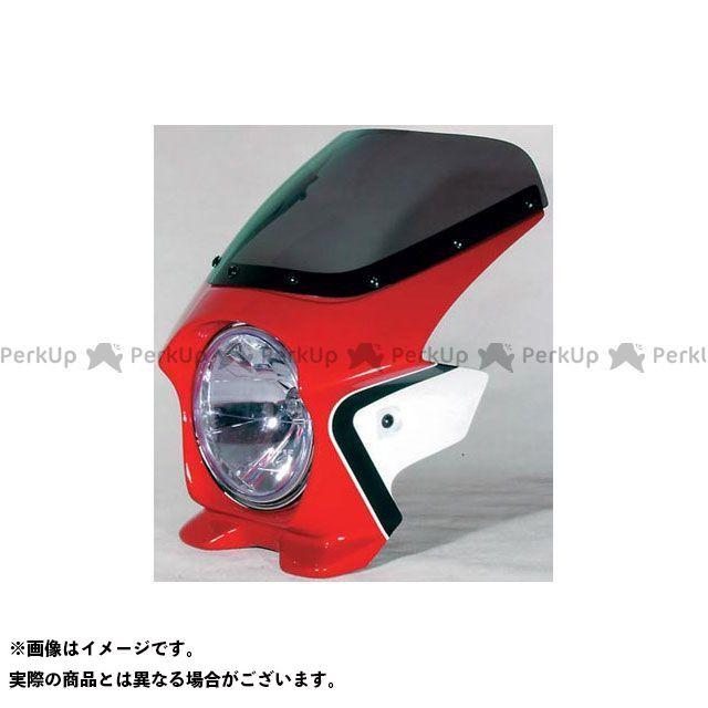BLUSTER2 CB400スーパーフォア(CB400SF) カウル・エアロ ビキニカウル CB400SF SPEC 3(05-07) カラー:キャンディプレイジングレッド(ツートン)《CBXカラー》 スクリーン仕様:スタンダード ブラスター2